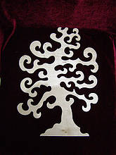 Дерево для декупажа, декор