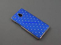 Чехол Diamond для HTC One mini 601e M4 синий