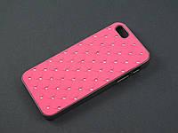 Чехол Diamond для Apple iPhone SE 5 5S розовый