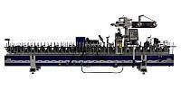 PW 35 F6-P Ламинирующий станок для окутывания МДФ профилей c использованием термоплавкого клея