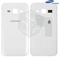 Задняя крышка батареи для Samsung Galaxy J1 J100H/DS, белый, оригинал