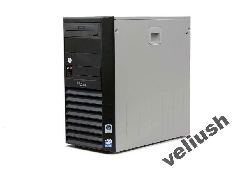 Системный Блок Fujitsu P2510 C2Duo E5200 2,5/2/160