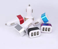 Переходник от прикуривателя на USB (тройной) 3100 mA