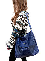 Женская сумка Laura Biaggi (1129 blue) leather