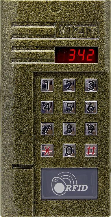 Блок вызова домофона VIZIT БВД-342R