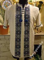 Сорочка-вишиванка трикотажна  56-58  розміру.