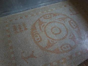 """Підлоги з мармурової крихти - """"Терраццо"""". мозаїчна підлога"""
