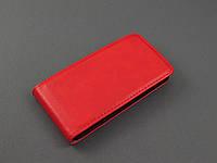 Чехол флип для HTC Desire 400 красный