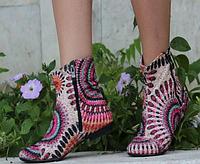 Женские ботиночки модные