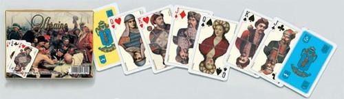 Комплект игральных карт Piatnik Ukraine, Bridge, 2 х 55 листов