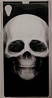 Чехол-накладка Print для Sony Xperia Z1 C6902/C6903/С6905 L39h Skull Black/White
