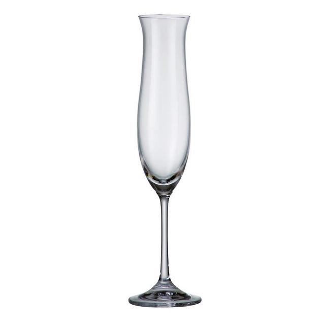 Набор бокалов для шампанского Bohemia Ellen 200 мл  6 шт 354