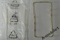 Рамка дисплея для iPhone 4S White со скотчем