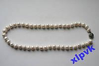 Ожерелье Белый Жемчуг AKOYA 9-10мм-14кGF-Австралия