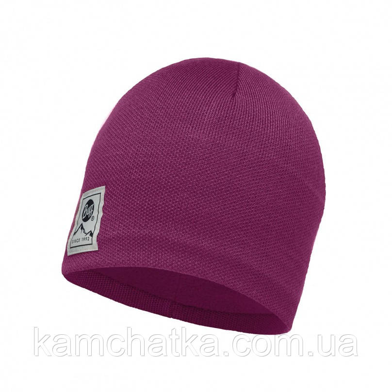 Шапка Buff Knitted & Polar Hat Solid Pink Cerisse