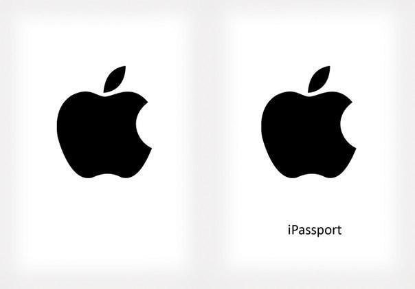 Обложка обкладинка на паспорт Apple