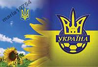 Обложка обкладинка на паспорт Україна футбол