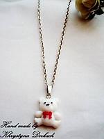 Подвеска кулон мишка ведмедик