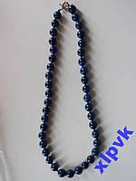Ожерелье Натуральный Лазурит 10 мм.50 см - ИНДИЯ