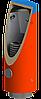 Теплоаккумулятор, бак с черным змеевиком