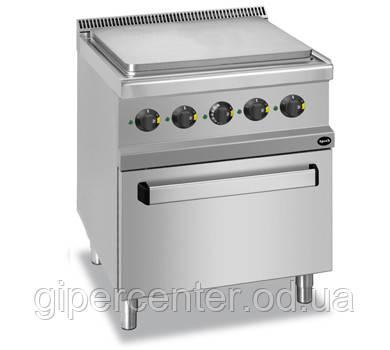 Электрическая напольная плита Apach APRES-77FE с духовкой; 700х700х850 мм