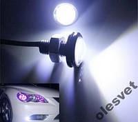 Лампа диодная ДХО CREE линзованная врезная 10W цвета