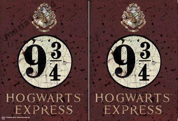 Обложка обкладинка на паспорт hogwarts express