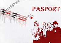 Обложка обкладинка на паспорт red hot chili pepper