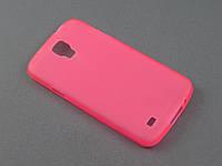 Чехол TPU  для Samsung I9295 Galaxy S 4 IV Active розовый