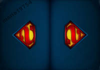 Обложка обкладинка на паспорт Superman