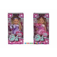 Кукла Эви - подружка невесты с цветами Steffi &Evi 5732336