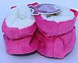 Махровые домашние тапочки-сапожки для девочки , фото 6