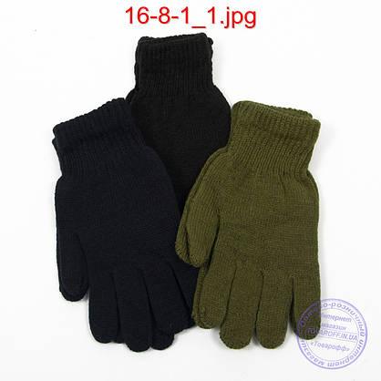 Оптом мужские перчатки - №16-8-1, фото 3