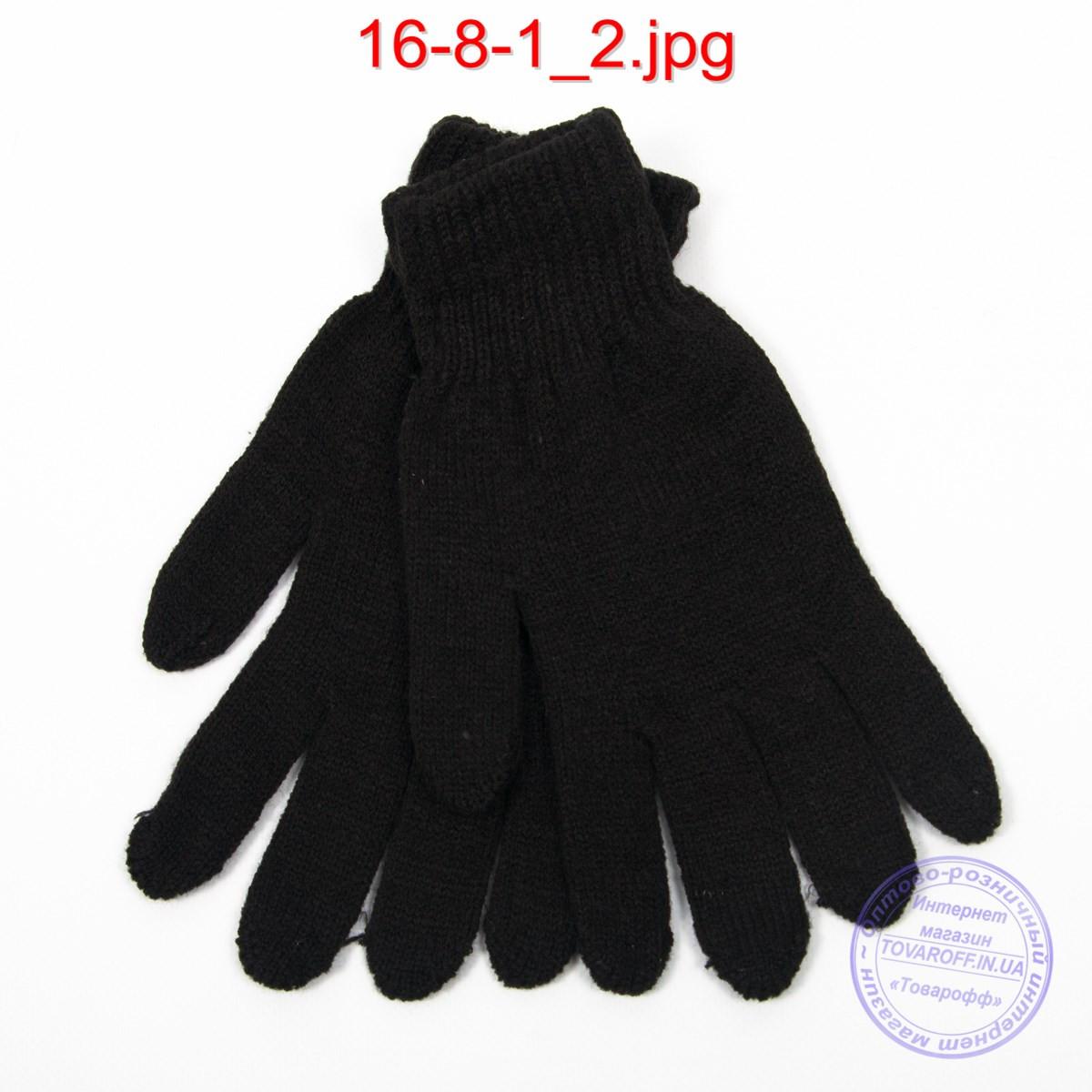 Оптом мужские перчатки - №16-8-1