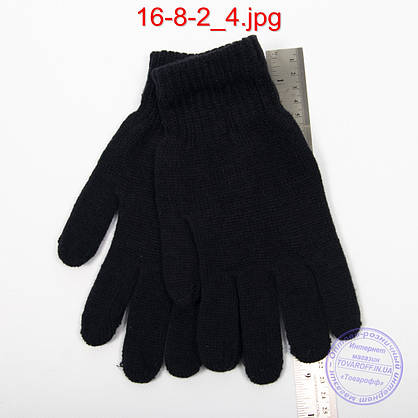 Оптом мужские перчатки - №16-8-2, фото 3