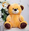 Плюшевый медвежонок Томми, 70 см, оранжевый, фото 3