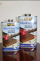 Масло для кухонных столешниц, Worktop Oil, 0.5 litre, Rustins