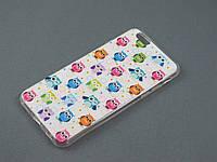 Чехол Print для Apple iPhone 6 6s принт Совы