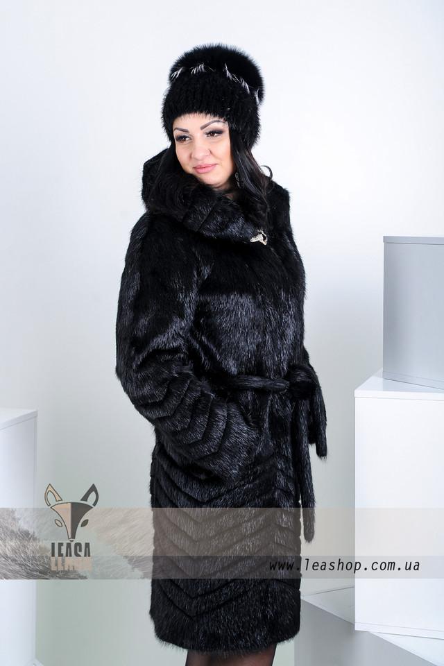 Купить шубу из нутрии в Киеве