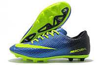 Копы мужские Nike Mercurial Walked сине-черные (найк меркуриал)