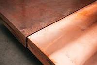 Медная плита (12-100 мм)