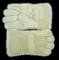 Перчатки рабочие кожанные TECHNICS