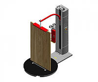 Паллетоупаковщик для вертикальной упаковки дверей WMS 15 Standart 2M с двухмоторной кареткой