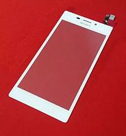 Оригинальный тачскрин / сенсор (сенсорное стекло) Sony Xperia M2 D2302 D2303 D2305 D2306 S50h (белый цвет)