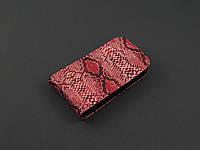 Чехол флип для Samsung Galaxy Pocket S5300 S5302 красный с принтом