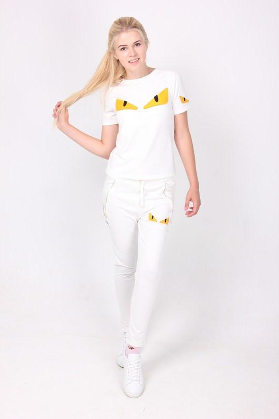 3b2aa812 Удобный спортивный костюм женский выполнен из качественного трикотажа -  Оптово-розничный магазин одежды