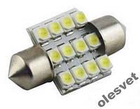 Светодиодная лампа фестон 12SMD1210 1шт. белый