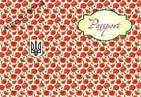 Обложка обкладинка на паспорт Україна маки