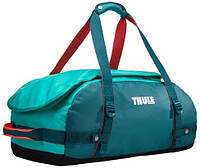Яркая дорожная спортивная сумка на плечо 40 л. Thule Chasm 221104 голубой