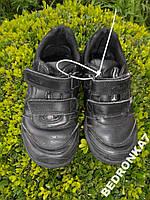 Туфли, кроссовки на липучках. стелька 18,5см